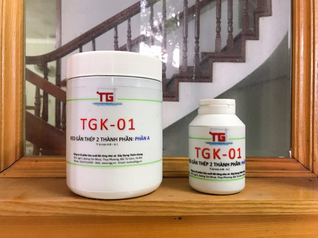 Glue for attaching steel and connecting steel – TGK-01